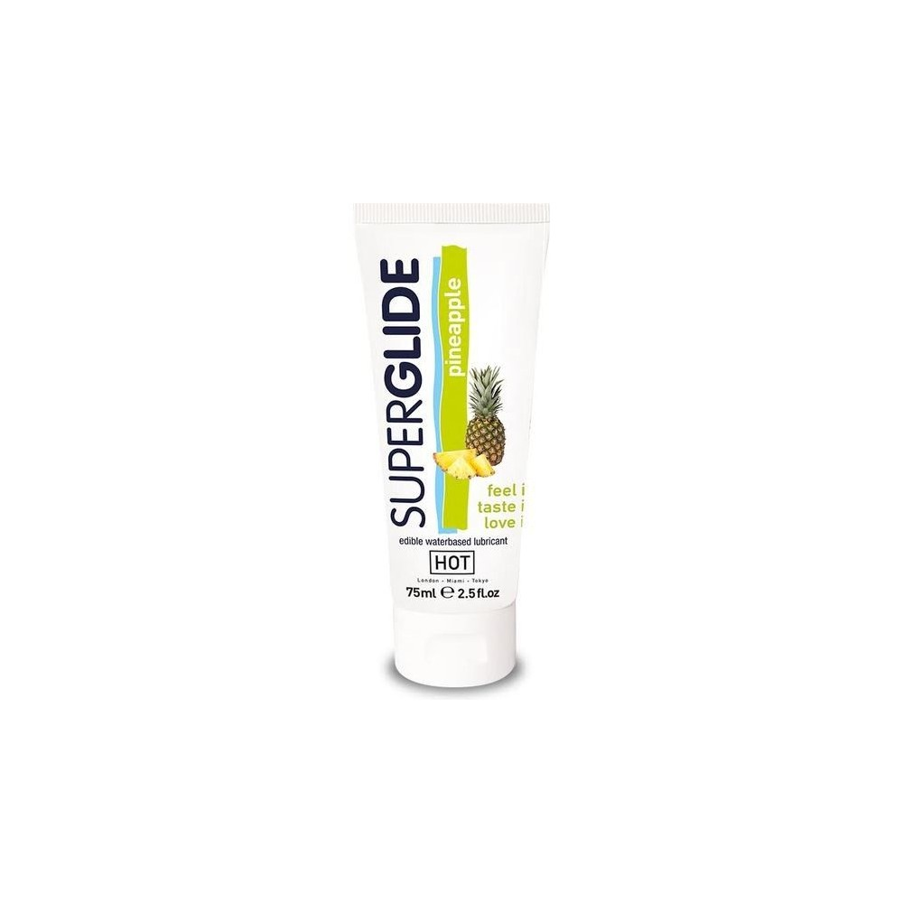 HOT SUPERGLIDE LUBRICANTE COMESTIBLE PINA